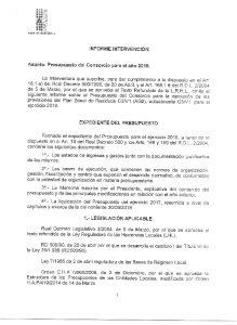 Icon of Informe Intervención Presupuesto 2019