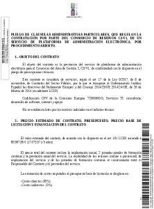 Icon of Pliego Clausulas Administrativas
