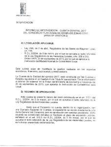 Icon of Informe Intervención Cuenta General 2017