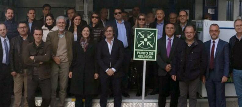 La Comisión de Coordinación de Consorcios de la Comunitat Valenciana visita la Planta de Algimia