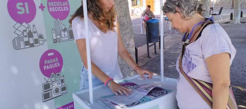 El Consorci Palància-Belcaire fa accions informatives sobre la Targeta verda i resol els dubtes de la ciutadania