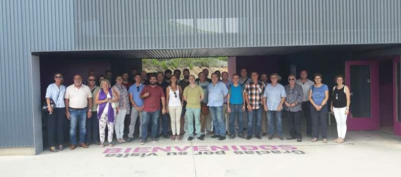 Representantes del Consorci MARE destacan la tecnología puntera del complejo de tratamiento, valorización y eliminación de Residuos Urbanos de Algímia d'Alfara