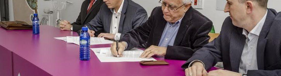 COR FIRMA CON EL CONSORCIO C3/V1 EL CONVENIO PARA TRASLADAR PARTE DE SUS RESIDUOS A SU PLANTA DE ALGIMIA D'ALFARA