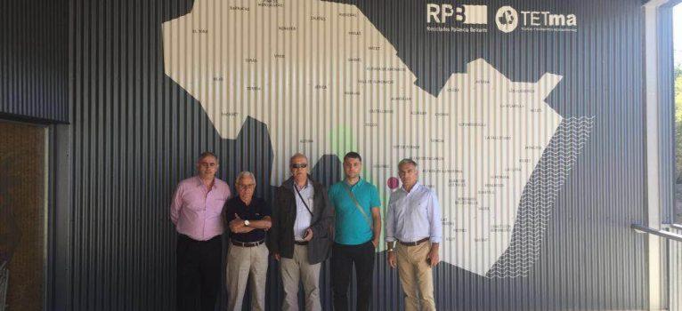 """Representantes institucionales de Rumanía visitan la Planta de Algimia y la califican de """"màxima referencia"""" de las instalaciones de tratamiento de residuos de toda Europa"""