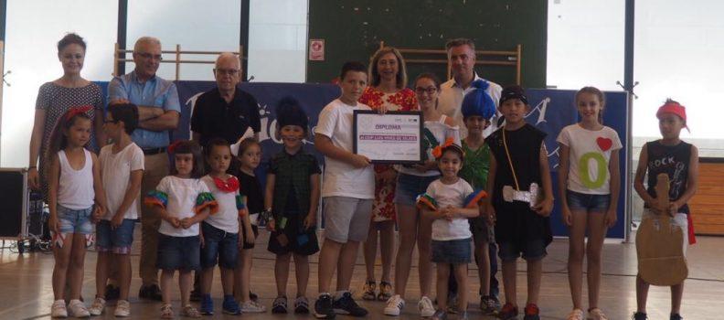 El Consorcio Palancia Belcaire reconoce el compromiso medioambiental del CEIP Luis Vives de Xilxes