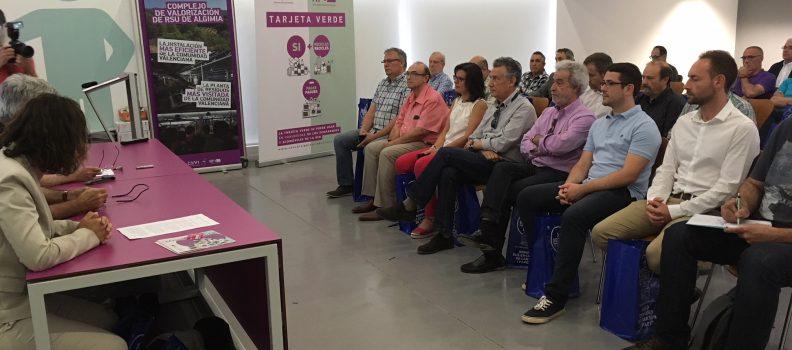 El Consorci Palància-Belcaire presenta el seu projecte ' Tarjeta verda'que premia la sensibilitat ambiental de la ciutadania
