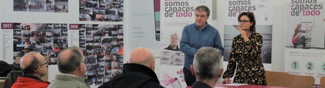 """EL CONSORCIO PALANCIA BELCAIRE INICIA LA CAMPAÑA """"SOMOS CAPACES DE TODO SI RECICLAMOS EN EQUIPO"""""""