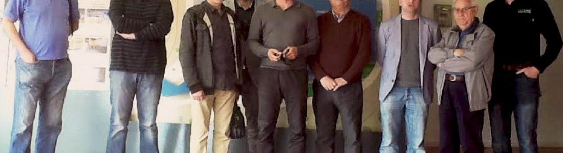 El director general de Cambio Climático y Calidad Ambiental y el concejal de Medio Ambiente del Ayuntamiento de Alicante visitan la Planta de Algimia, las instalaciones más avanzadas en el tratamiento de residuos urbanos de la Comunidad Valenciana