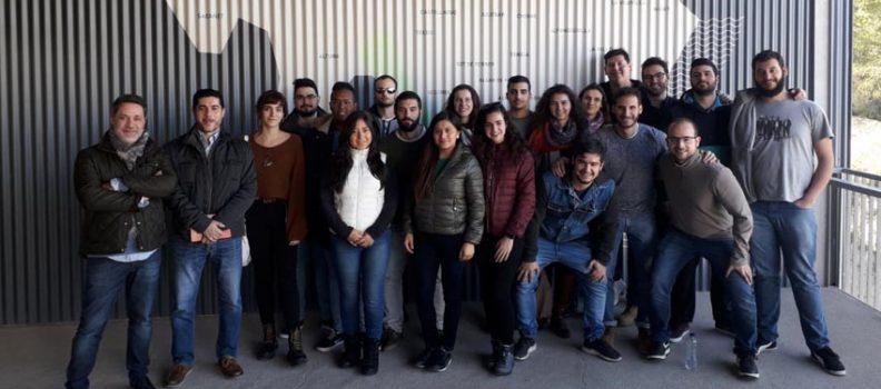 30 estudiantes del Master en Química Sostenible de la UPV visitan la Planta de Algimia