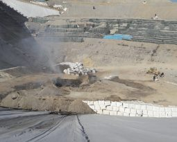 Efectivos del Consorcio Palancia Belcaire extinguen el conato de incendio iniciado en una zona acotada del vertedero de Algímia