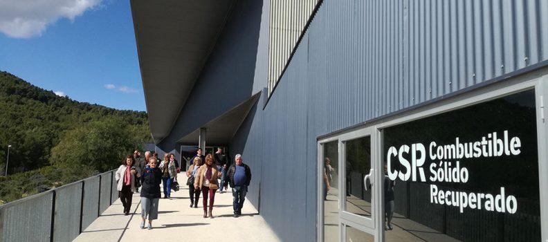 Cerca de 2.500 personas visitan la Planta de Tratamiento de Residuos d' Algímia d' Alfara durante 2018